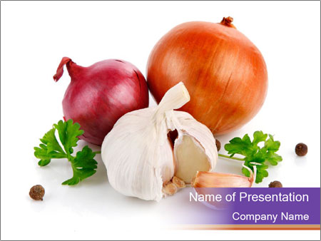 Onion and garlic powerpoint template backgrounds google slides onion and garlic powerpoint template toneelgroepblik Choice Image