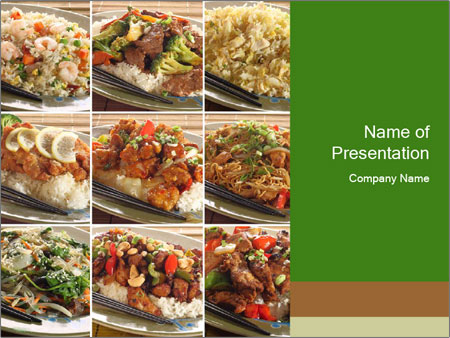 Traditional Asian Food Powerpoint Template Backgrounds Google