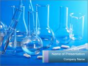 Glass Lab Flaks PowerPoint Templates