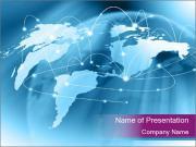 Global Business Connections Шаблоны презентаций PowerPoint