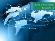 Worldwide Internet Connection Шаблоны презентаций PowerPoint