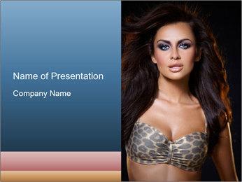 Sexy Bra PowerPoint Template