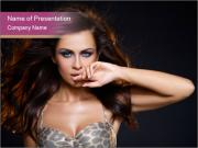 Sexy Female Lingerie PowerPoint Templates