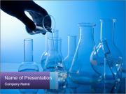 Laboratory Flasks PowerPoint Templates