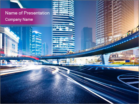 dynamic city life powerpoint template amp backgrounds id