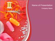 Creative Sewing Activity PowerPoint Templates