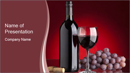love red wine powerpoint template backgrounds google slides id