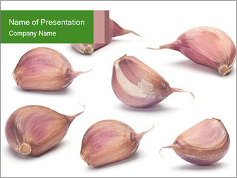 Organic Garlic PowerPoint Template
