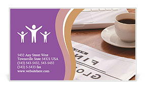 0000023488 Business Card Template