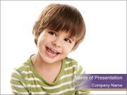 Adorable Little Boy PowerPoint Templates