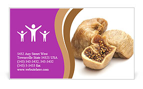 Dry fruit business card template - Dried fruit business ...