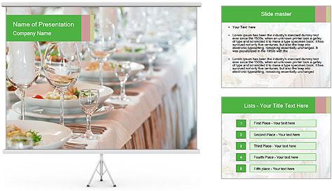 Свадебный шаблон для презентаций powerpoint