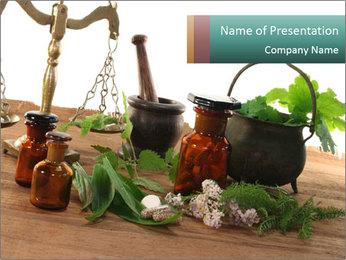 Herbal Medicine PowerPoint Template