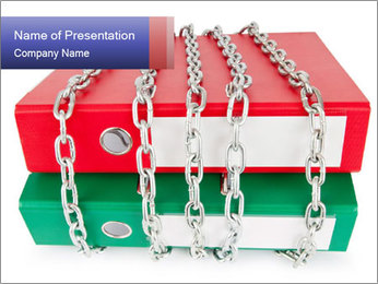 Chains of Bureaucracy PowerPoint Template