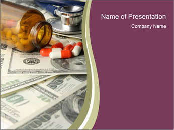 Cost of Medicine PowerPoint Template