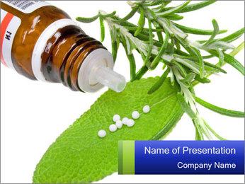 Holistic Medicine PowerPoint Template