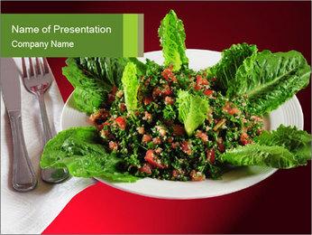 Lebanon Tabouleh PowerPoint Template