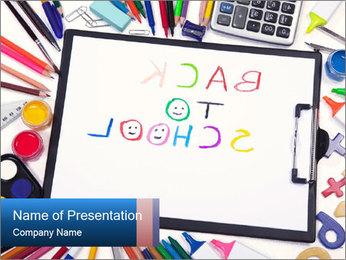 Get Ready for New School Year Modèles des présentations  PowerPoint