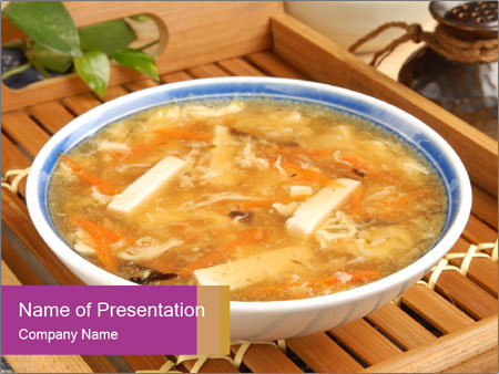 Hot Soup PowerPoint Template, Backgrounds & Google Slides - ID ...