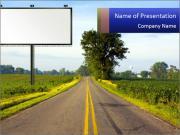 Narrow Road PowerPoint Templates