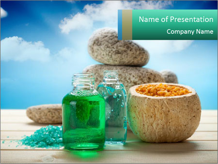 Natural spa essential oils powerpoint template backgrounds id natural spa essential oils powerpoint template toneelgroepblik Images