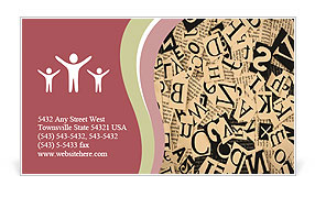 0000025202 Business Card Templates
