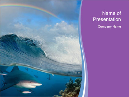 Tide Powerpoint Template Smiletemplates