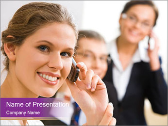 Business Phone Number Шаблоны презентаций PowerPoint