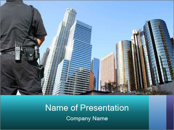 City Police PowerPoint Template