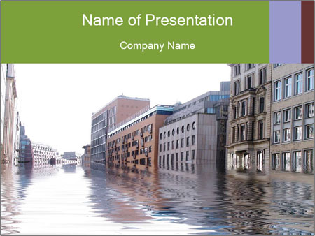 Flood disaster powerpoint template backgrounds id 0000025628 flood disaster powerpoint templates toneelgroepblik Choice Image