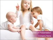 Small Sisters PowerPoint Templates
