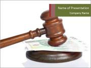 Corruption in Court PowerPoint Templates