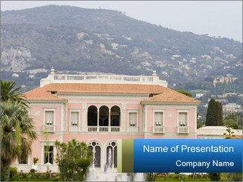 Luxurious Villa PowerPoint Template