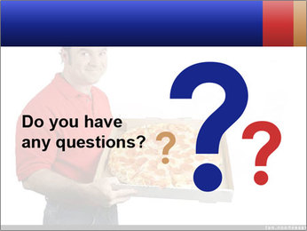 Fast Pizza Delivery PowerPoint Template