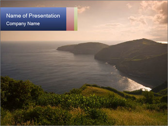 Evening with Nature PowerPoint Template