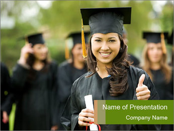 Final University Graduation PowerPoint Template
