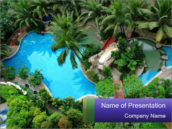 Comfortable VIP Hotel PowerPoint Template