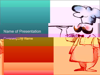 Chef Cook Illustration PowerPoint Template