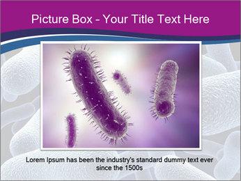 Blue Microbes Modèles des présentations  PowerPoint - Diapositives 15