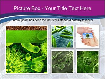 Blue Microbes Modèles des présentations  PowerPoint - Diapositives 19
