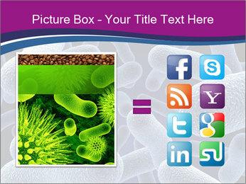 Blue Microbes Modèles des présentations  PowerPoint - Diapositives 21