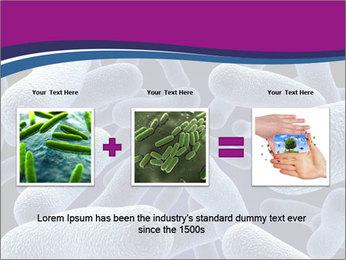Blue Microbes Modèles des présentations  PowerPoint - Diapositives 22
