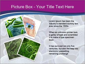 Blue Microbes Modèles des présentations  PowerPoint - Diapositives 23