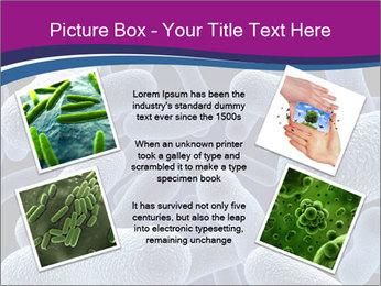 Blue Microbes Modèles des présentations  PowerPoint - Diapositives 24