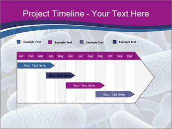 Blue Microbes Modèles des présentations  PowerPoint - Diapositives 25