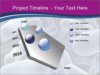 Blue Microbes Modèles des présentations  PowerPoint - Diapositives 26
