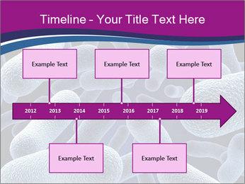 Blue Microbes Modèles des présentations  PowerPoint - Diapositives 28