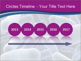 Blue Microbes Modèles des présentations  PowerPoint - Diapositives 29