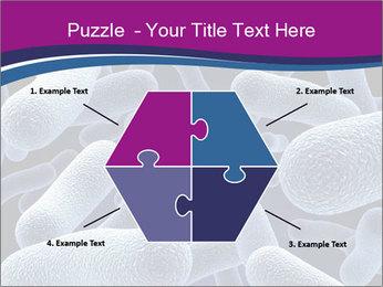 Blue Microbes Modèles des présentations  PowerPoint - Diapositives 40