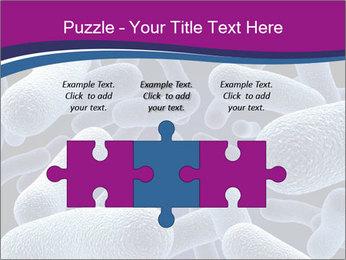 Blue Microbes Modèles des présentations  PowerPoint - Diapositives 42
